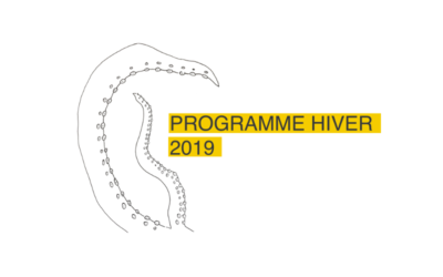 Programme hiver 2019