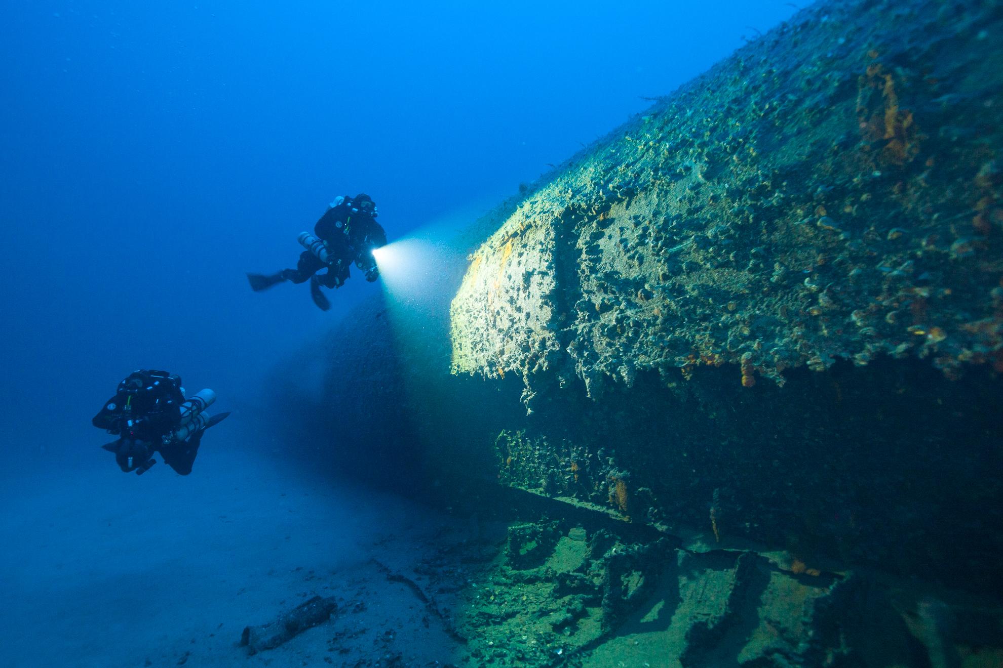 Le protée sous-marin