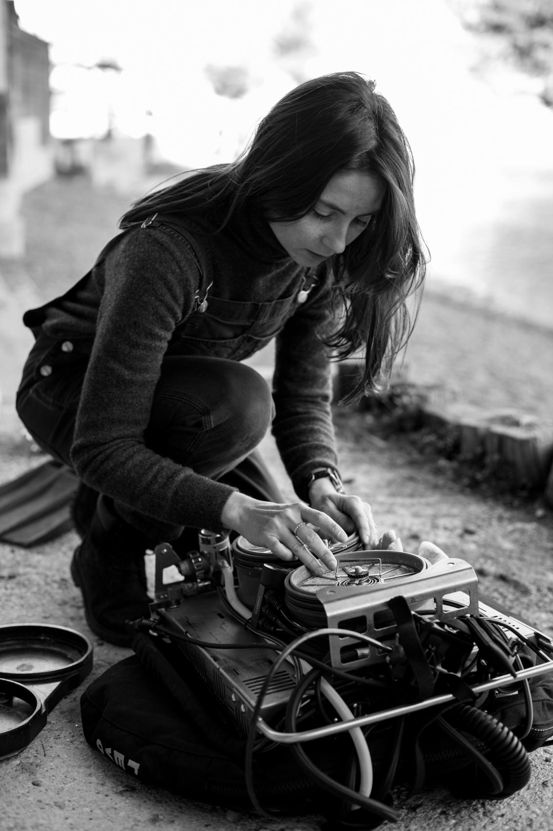Justine Charbonnier Kraken Plongée