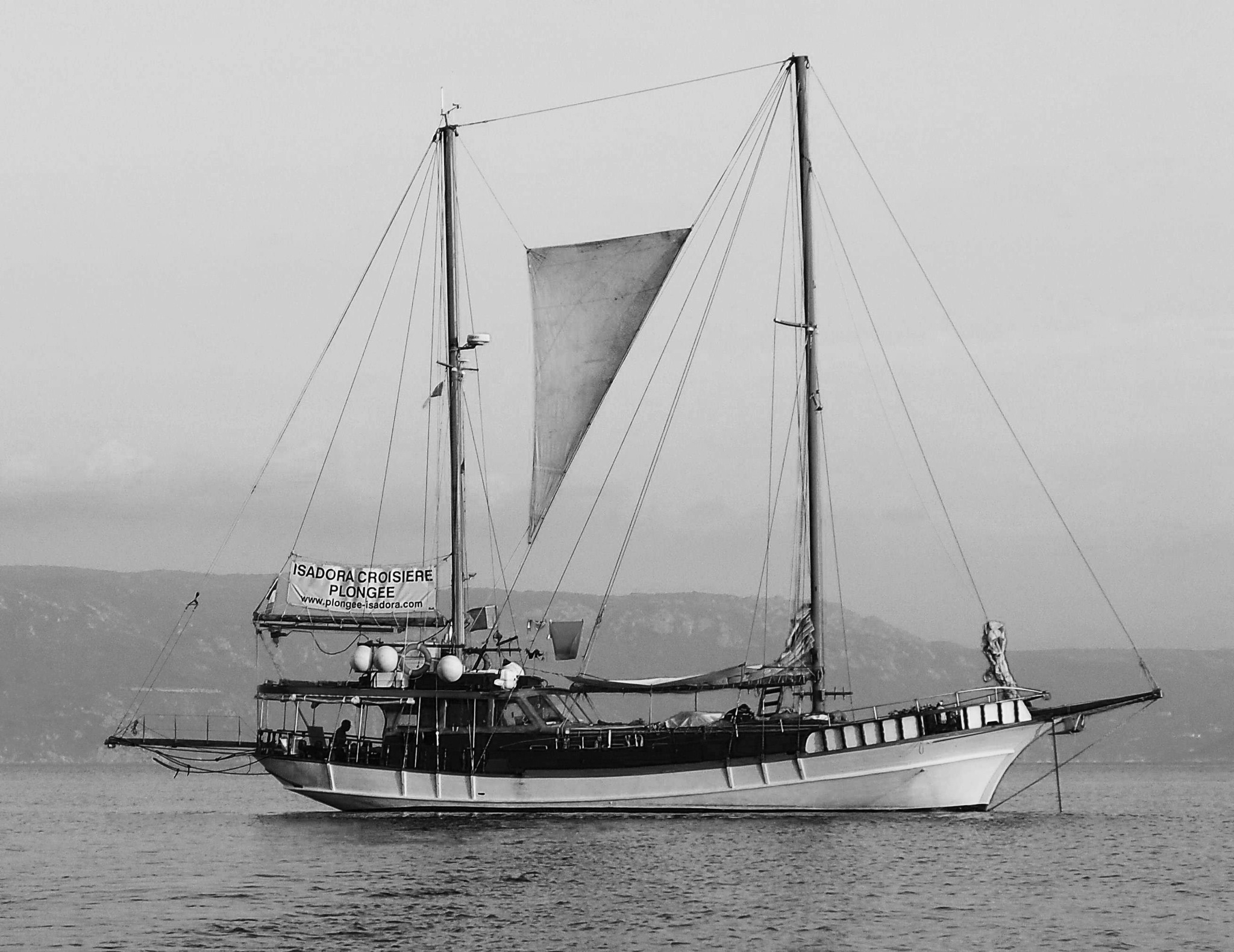 Isadora Croisière plongée