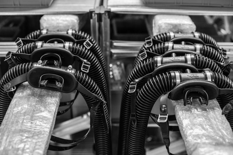 revo rebreather boucles usine